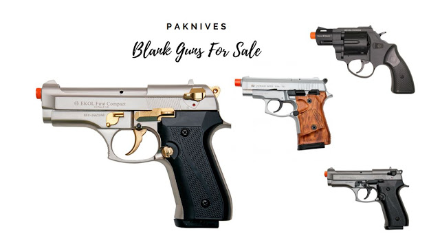 Cheap Blank Guns Can Create a Real Difference