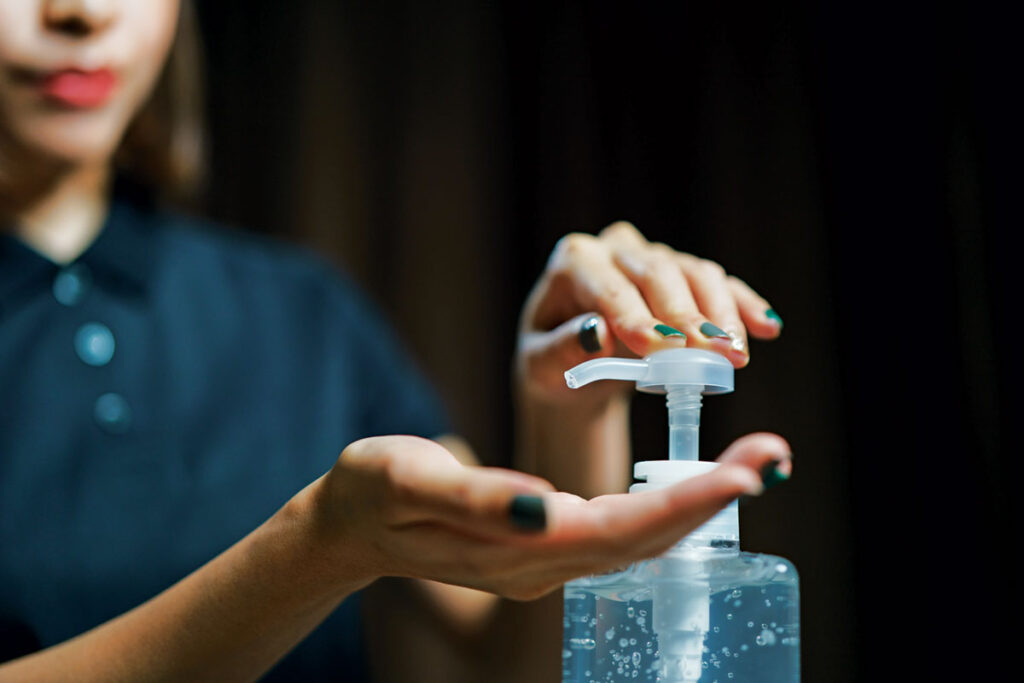 How Much Can Liquid Hand Sanitizer Protect People from Infectious Disease?