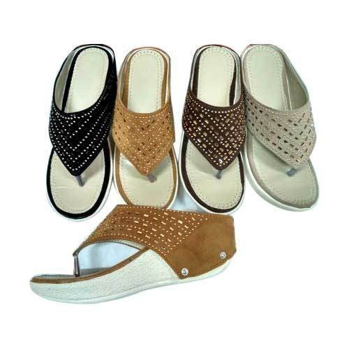 Ladies chappal and chappal for men