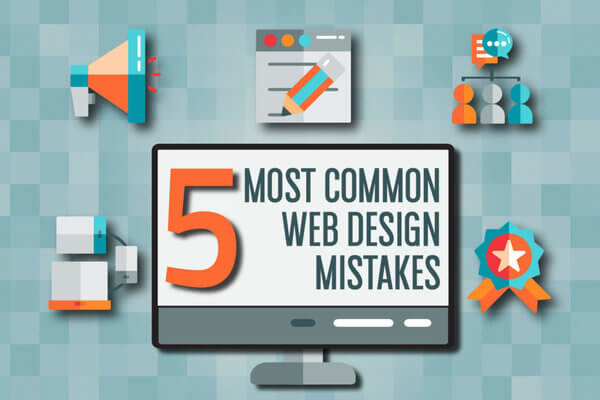 Common web design mistakes that should be avoided