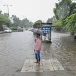 For second time in eight days, overnight rain leaves many areas of Gurgaon waterlogged