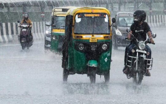 Orange alert issued, heavy rain likely in Gurugram